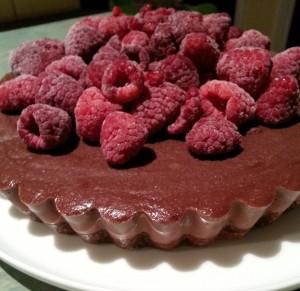 Raw Dairy Free Chocolate Cheesecake